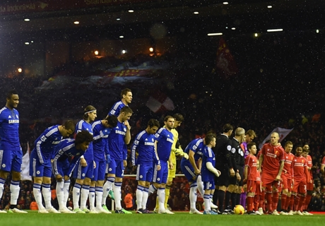 Gallery: Classic Chelsea-Liverpool clashes