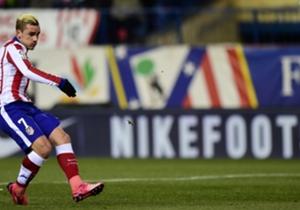 Antoine Griezmann -> 2 buts (6 tirs tentés), 7 ballons touchés dans la surface adverse, 100% de dribbles réussis, 9 ballons récupérés (Stats Opta)