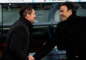 Simeone e Luis Enrique contro in Atletico-Barcellona