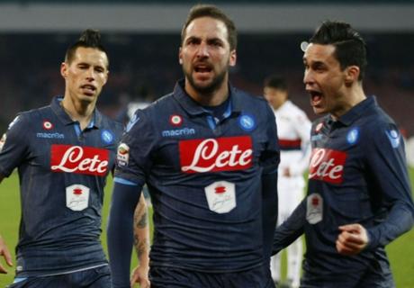 VIDEO - Highlights Napoli-Genoa 2-1