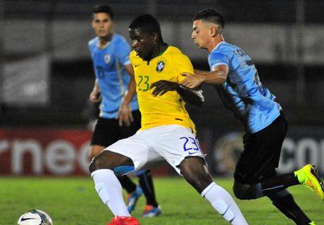 Uruguay y Brasil debutaron con empate