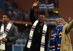Samuel Eto'o | Everton'dan Sampdoria'ya | Bilinmiyor