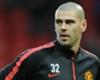 Víctor Valdés inspira a las jóvenes promesas del Manchester United
