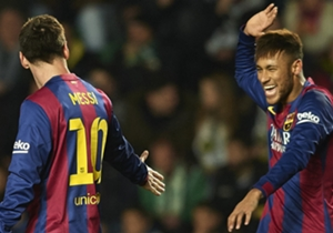 Neymar und Lionel Messi harmonierten perfekt beim 6:0 gegen Elche. Wenig überraschend, dass die beiden Stürmer deshalb auch in unserer Elf des Tages des 20. Spieltags in der Primera Division vertreten sind. Die weiteren Spieler gibt es hier.