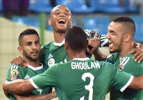 Mahrez & Bentaleb on target for Algeria