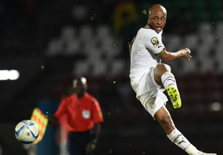 Late Ayew strike sends Ghana through