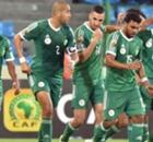 L'Algérie en quarts de finale