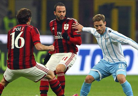 Inzaghi on the brink as Lazio see off Milan