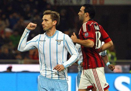 Coppa Italia: Milan 0-1 Lazio