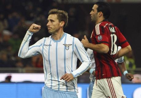 Klose mit Lazio im Pokal-Halbfinale