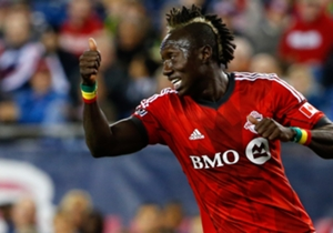 Dominic Oduro Toronto FC MLS 10252014