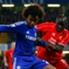 Willian jadi pembeda partai Chelsea kontra Liverpool.