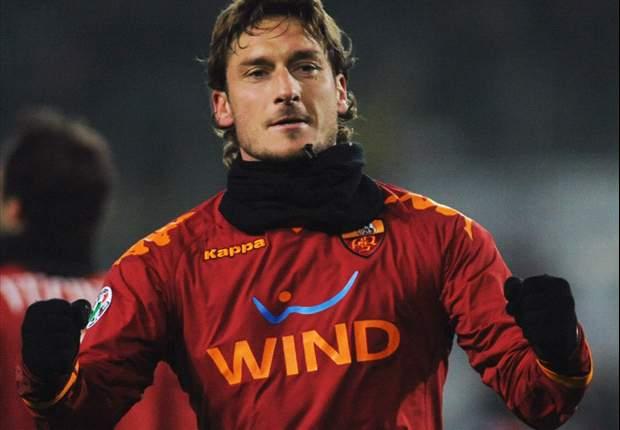 Roma Captain Francesco Totti Hope To Return For Inter Clash - Report