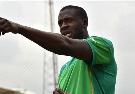 Yaya Toure allays injury fears