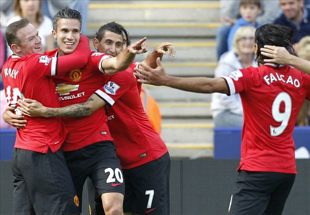 Van Persie Rooney Falcao di Maria Van Persie Falcao Rooney And