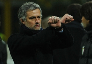 February 2010 | Made a 'handcuff' gesture after Inter's Walter Samuel and Ivan Cordoba were sent off and Samuel Eto'o was booked against Sampdoria. Mourinho also criticised the referee at half-time and was given a three-game touchline ban and fined £35...