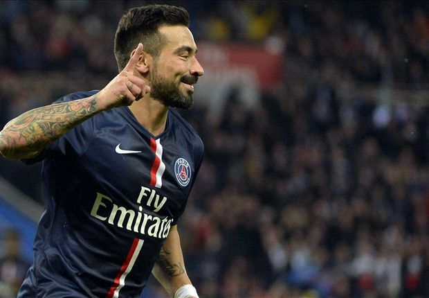 PSG 1-0 Rennes: Lavezzi strike enough for champions