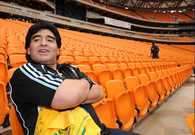World Cup 2010: Diego Maradona Jr: Argentina Are Strongest & They Will Win The Tournament