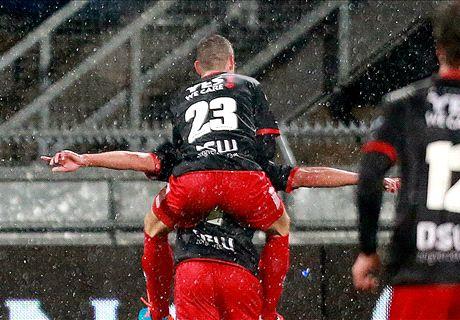 Excelsior overklast Roda en bereikt halve finale