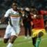 Un contrasto nel match tra Mali e Guinea