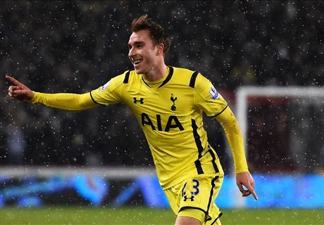 Eriksen relieved as Spurs edge through