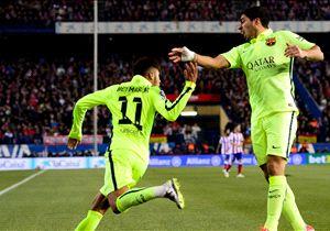 Con dos goles de Neymar, Barcelona se clasificó a semifinales de la Copa del Rey.