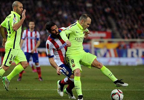 Neymar double sees off angry Atleti