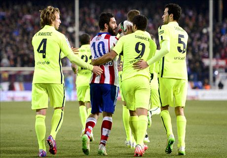 Arda throws boot at assistant referee