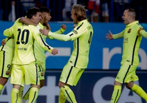 Al final, el Barcelona celebró el pase a la final
