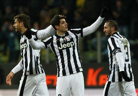 Juventus lo ganó en el final