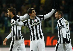 Die Erleichterung bei den Bianconeri war nach der schweren Partie in Parma groß
