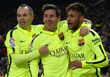 'Neymar will struggle to emulate Messi'