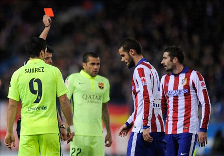 Wild Atletico lose dignity in defeat