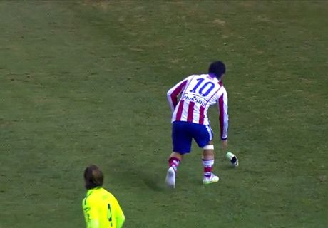 Arda Turan avoids ban for boot throw