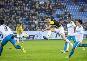 Vitesse scoorde één keer uit de laatste 53 doelpogingen in de Eredivisie.