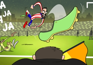 Atletico lose their heads & Arda throws his boot at an official