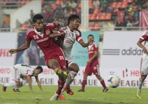 Pune FC's attack in Haokip and Nikac were too troublesome for Khongjee and company