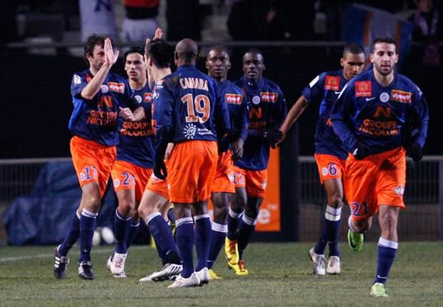 Round-Up Ligue 1 Prancis: Montpellier Kukuh Di Puncak, Lille Tersandung