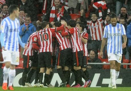 Athletic Bilbao Bekuk Malaga