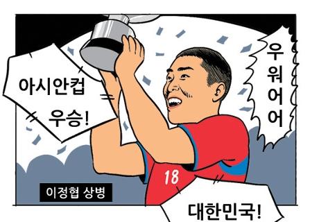 [웹툰] 아시안컵 우승 꿈