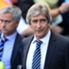 Vorteil Mou: Manuel Pellgrinis (re.) jüngste Bilanz gegen Jose Mourinho (li.) ist eher schwach