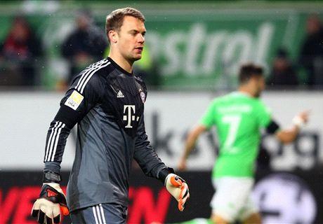 LIVE: Wolfsburg 1-0 Bayern Munich