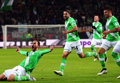 LIVE: Wolfsburg 2-0 Bayern