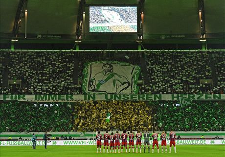 Wolfsburg Win A Moving Tribute
