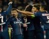 PSG celebrate versus Rennes