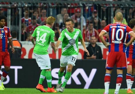 Bayern sbranato dai Lupi: poker Wolfs