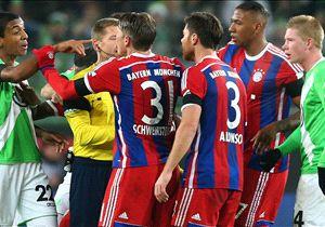 Bei einigen Bayern-Akteuren kochten im Spiel die Emotionen über