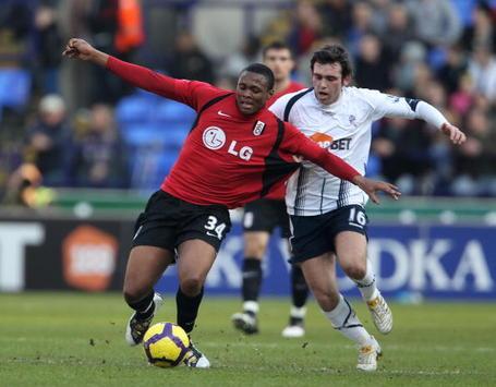 EPL: Kagiso Dikgacoi - Mark Davies, Bolton Wanderers v Fulham (Getty Images)