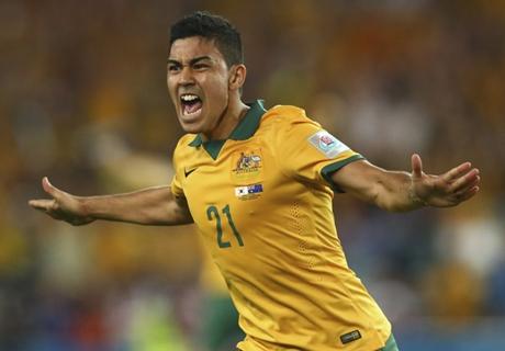 FT (AET): Korea Selatan 1-2 Australia