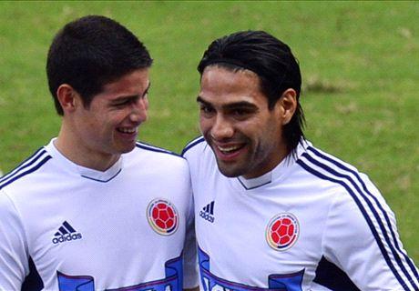 Falcao y James serán de la partida
